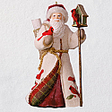 Hallmark 2018 Keepsake Caucasian Father Christmas Ornament QX9389
