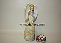Enesco Foundations Leaving Home Angel Figurine with suitcase 120099