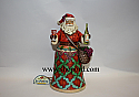 Jim Shore Cheers To A Merry Christmas Vineyard Santa Figurine 4025844