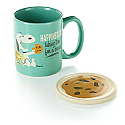 Hallmark Peanuts Happiness Is Mug with Coaster