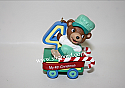Hallmark 2001 Childs Fourth Christmas Ornament Childs Age Collection QX8392