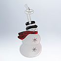 Hallmark 2012 Top Hat Snowman Ornament QXG3534