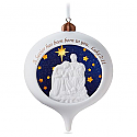 Hallmark 2016 A Savior Is Born Nativity Ornament QGO1331