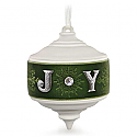 Hallmark 2015 Emerald Joy Porcelain Ornament QGO1609
