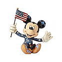 Jim Shore Disney Patriotic Mickey Mouse Ornament 4056743