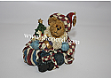 Boyds The Bearstone Collection - Nicholas Bearyproud (All American Christmas) #228399PAW