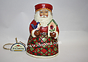 Jim Shore Cozy Christmas Small Santa with Birdhouse Figurine 4022913