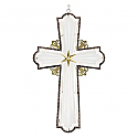 Hallmark 2016 Radiant Glass and Metal Cross Premium Ornament QGO1614