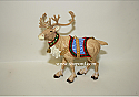 Hallmark 2001 Ready Reindeer Ornament QX8295