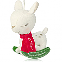 Hallmark 2014 Baby's 1st Christmas Lil Dear Ornament (Rocking Horse) QGO1043 Available in July