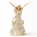 Enesco Foundations Congratulations Mini Angel Figurine 4025816