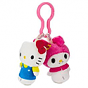 Hallmark itty bittys Clippys Hello Kitty & My Melody KDD1122