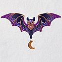 Hallmark 2018 Keepsake Bewitching Bat Ornament QFO5236