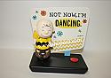 Hallmark Peanut Gang Charlie Brown Figurine With Sound PAJ1138