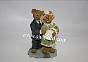 Boyds The Bearstone Collection - James & Kathleen with Baby Blessings (The Christening) #228434
