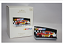 Hallmark 2007 The Race Is On Nascar Magic Ornament QXI2187 Damaged Box