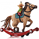 Hallmark 2014 A Pony for Christmas Ornament 17th in the series QX9133