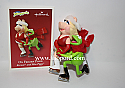 Hallmark 2003 On Frozen Pond Ornament Kermit and Miss Piggy QXI4289