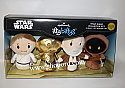 Hallmark itty bittys Star Wars Episode IV Collector Set of 4 Luke Skywalker C3PQ Obi Wan Kenobi Jawa Plush KID3239