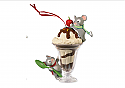 Hallmark 2014 Mice Cream Sundae Keepsake Ornament Club (KOC) QXC5078