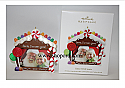 Hallmark 2011 Sittin' with Santa photo holder Ornament LPR3469