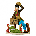 Hallmark 2012 Half Off Hijinks Ornament Disney Goofy and Chip and Dale QXD1071