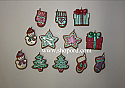 Hallmark 2004 Sweeter By The Dozen set of 12 Miniature Ornament QXM5274