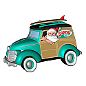 Hallmark 2014 Surfin Safari Santa Ornament QGO1383