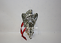 Hallmark 1998 Angelic Flight Silver Plated and Lead Crystal Ornament QXI4146