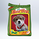 Hallmark 2012 Best Dog Ornament photo holder QXG4714