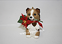 Hallmark 2001 Puppy Love Ornament 11th In The Series QX6982