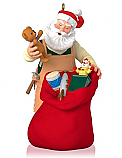 Hallmark 2014 Limited Quantities Toymaker Santa Ornament 15th Anniversary QXE3763