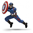 Hallmark 2016 Team Captain America Captain American Civil War Ornament QXI3461
