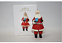 Hallmark 2010 Santas Busy Season Ornament QXG7343