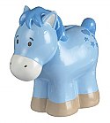 Ganz Ceramic Blue Horse Bank