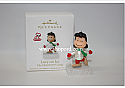 Hallmark 2010 Lucy on Ice Continuity Program The Peanuts Gang QRP4743
