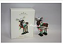 Hallmark 2007 Chocolate Moose Ornament QXG7017