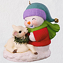 Hallmark 2018 Keepsake Snow Buddies Ornament QX9516