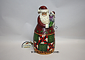 Jim Shore Christmas Cheer Is Here Santa with Cat Classic Figurine 4017653