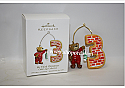 Hallmark 2010 My Third Christmas Ornament Childs Age Collection QXG7613