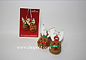 Hallmark 2004 My Christmas Slippers Ornament QLX7554