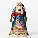 Jim Shore Away in a Manger Santa 4046758