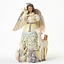 Jim Shore Peace To All Figurine Woodland Angel 4041084