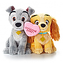 Hallmark Doggone Sweet Lady and the Tramp Plush Animal VTD1510