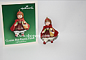 Hallmark 2004 Classic Red Riding Hood Madame Alexander Miniature Ornament QXM5201