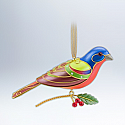 Hallmark 2012 Painted Bunting Ornament 8th in The Beauty of Birds series QX8101