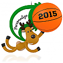 Hallmark 2015 Basketball Star Ornament QGO1417