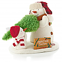 Hallmark 2014 The Perfect Tree Plush Techno Snowman LPR2407