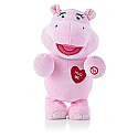 Hallmark Hug Lovin Hippo Interactive Plush Animal LPR1100