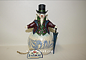 Jim Shore Dashing In The Snow Victorian Snowman Figurine 4047678